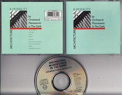 ORCHESTRAL MANOEUVRES IN THE DARK Architecture & Morality 1983 CD HOLLAND MINT
