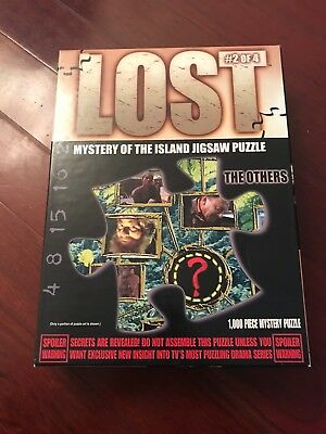 Lost TV Show Mystery of the Island Jigsaw Puzzle 2 of 4 The Others