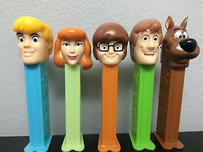 Scooby Doo & The Gang PEZ Set