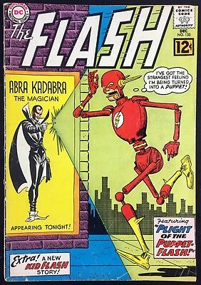 Flash (1959) #133 VG- (3.5) vs Abra Kadabra