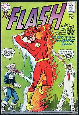 Flash (1959) #140 VG (4.0) 1st app Heatwave