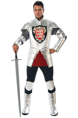 Silver Knight Renaissance Medieval Adult Costume