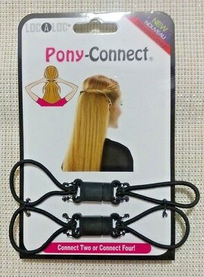 Localoc, Pony-connect, Hair Accessory Create modern styles in seconds Free Ship!