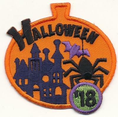 Girl Boy Cub HALLOWEEN '18 2018 Cute Party Patches Crests Badges SCOUTS GUIDES