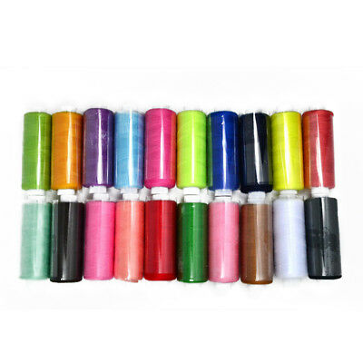 24 Assorted Colorful  Polyester Sewing Thread Spools