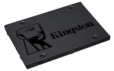 Kingston SA400S37/120GB Solid-State-Drive 2.5 Zoll SATA 3 Schwarz