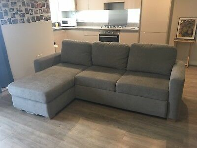 Excellent Grey John Lewis Sacha Large Sofa Bed 1 000 00 Picclick Uk Gmtry Best Dining Table And Chair Ideas Images Gmtryco