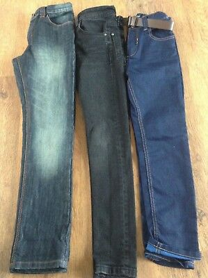 100% Next Boys Bundle Of Denim Regular/skinny/super Skinny Jeans 9Yrs