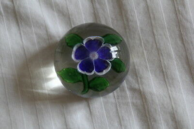 Ancienne Boule Presse-Papiers Baccarat - Old French Baccarat Paperweight