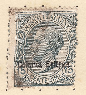 ERITREA SG 41 15c Grey King Fine Used
