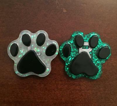 Paw Print Xray Markers - 1 Set ( CHOOSE YOUR COLORS )