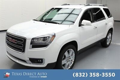 2017 GMC Acadia Limited Texas Direct Auto 2017 Limited Used 3.6L V6 24V Automatic FWD SUV Bose Premium