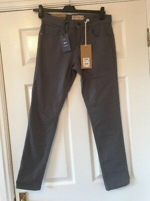 New Next  Mens / Boys  Grey Skinny Jeans Size  28 Short
