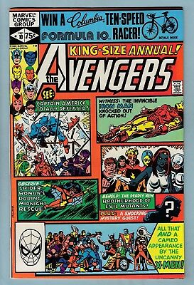 AVENGERS ANNUAL # 10 NM- (9.2) 1st ROGUE APPEARANCE- LOVELY HIGH GRADE CENTS KEY