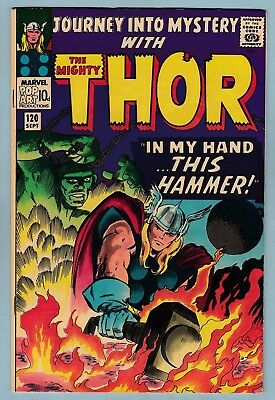 JOURNEY INTO MYSTERY # 120 FN+ (6.5)  THOR - 1st GRAND VIZIER APPEARANCE - 1965
