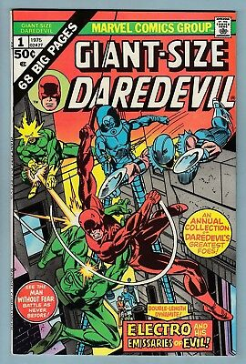 GIANT SIZE DAREDEVIL # 1 VFN+ (8.5)  HIGH GRADE US CENTS COPY - 99p START