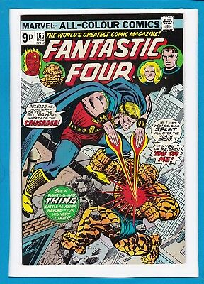 Fantastic Four #165_December 1975_Near Mint Minus_The Crusader_Bronze Age Uk!