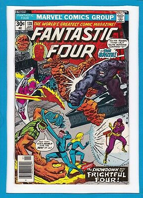 "Fantastic Four #178_Jan 1977_Very Good/fine_""showdown With The Frightful Four""!"