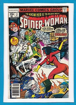 SPIDER-WOMAN #2_MAY 1978_FINE/VERY FINE_2nd STARTLING ISSUE_BRONZE AGE MARVEL!