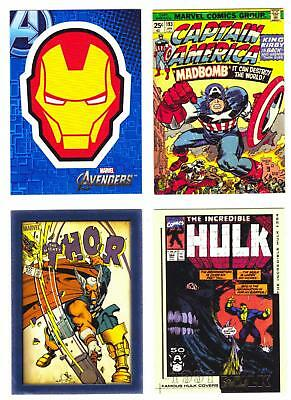 MARVEL MOVIES INSERT CARDS--Lot of 17 Mixed Insert Cards****