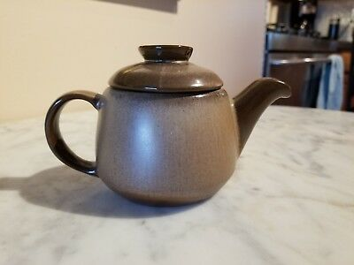 Frankoma Pottery Plainsman Brown Small Personal 2 Cup Teapot