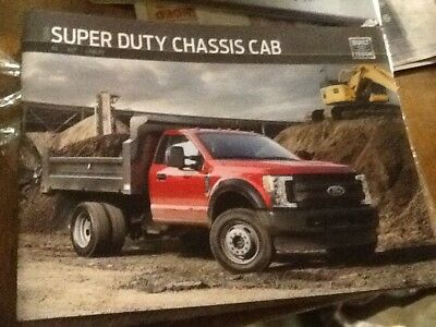 2019 ford super duty chassis cab brochure new