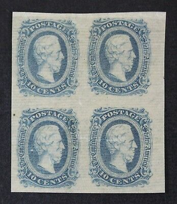 CKStamps: US Confederate State Stamps Collection Scott#11 10c Mint H OG Crease