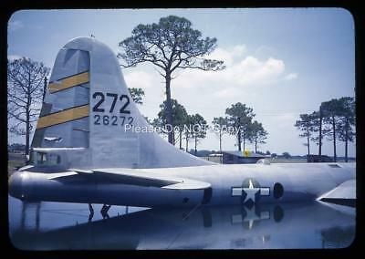 494N Orig 1940's Slide USAF Downed Boeing B-29 Superfortress 26272 Sat In Lake