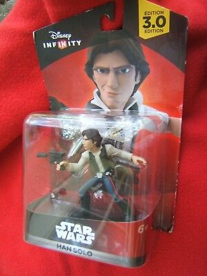 Never Opened Disney Infinity Edition 3.0 Star Wars Hans Solo Action Figure