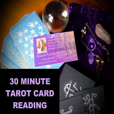 30 MINUTE TAROT CARD READING OVER THE PHONE  Wicca Witch Pagan