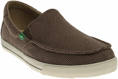 Sanuk Sideline Checked - Brown - Mens
