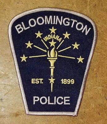 Bloomington Indiana Police Sheriff Patch (Monroe County Ind)