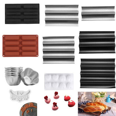 Multi-type Cake Pastry Molds Chocolate Jelly Mousse Bread Dessert Mould DIY Tool