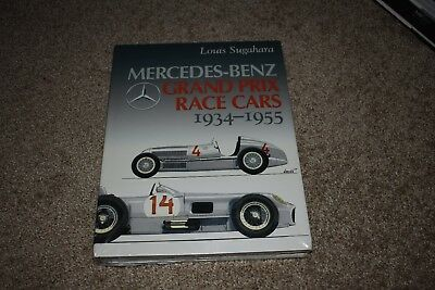 Mercedes-Benz Grand Prix Race Cars 1934-1955 by Louis Sugahara NEW IN PLASTIC
