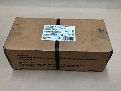 Siemens 6Ep1436-2Ba00 Sitop Power Supply *new Sealed In Box*