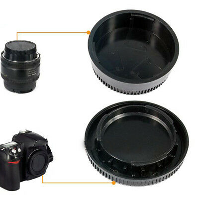 58*22mm Camera Body Cover+Lens Rear Cap For Nikon D7100 D5200 D5300 D3200 D3300