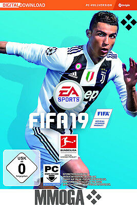 FIFA 19 Standard Version - PC EA Origin - Digital Download Game - English Only