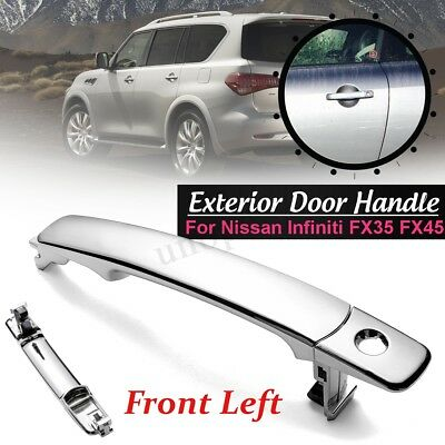 Front Left Driver Side Outside Exterior Door Handle For Nissan Infiniti FX35 45