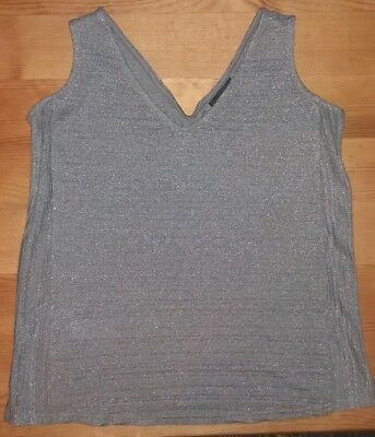 Ladies green Next Maternity elegant vest party top. Size 10.