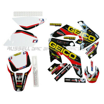 Racing 3M Graphics Kit Decals Sticker for Honda CRF50 MOTO dirt bike PARTS XR50