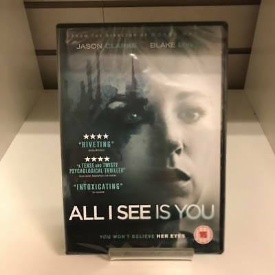 All I See Is You DVD - New and Sealed Fast and Free Delivery