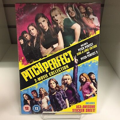 Pitch Perfect 2-Movie Collection DVD - New and Sealed Fast and Free Delivery