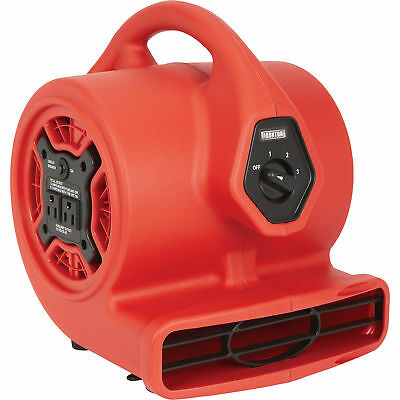 Ironton Mini Blower with Built-In Outlet-1/8 HP