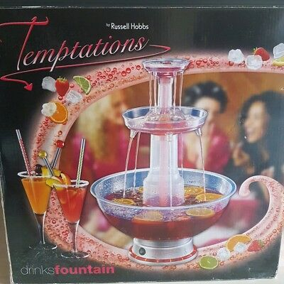 Temptations Drinks Fountain by Russell Hobbs
