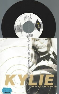 """7""""  Kylie Minogue – What Do I Have To Do"""