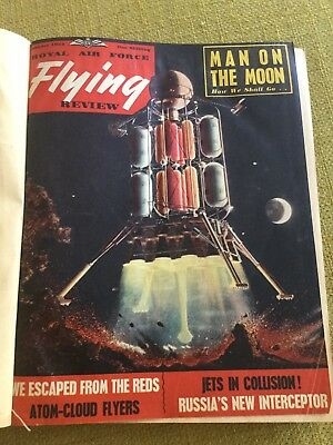 RAF Flying Review, Bound 12 Issues 1954 (jan - dec)
