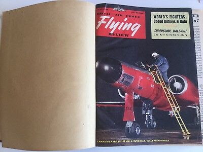 RAF Flying Review, Bound 12 Issues, 1956 (jan - dec)