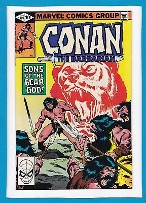 """Conan The Barbarian #109_April 1980_Nm Minus_""""sons Of The Bear God""""_Bronze Age!"""