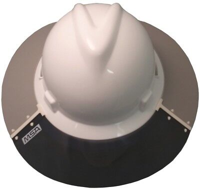 MSA 697410 VGARD Full Brim Hard Hat Sun Shield and Visor -  20.95 ... e58bd98f588