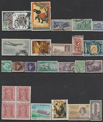 INDIA COLLECTION All Periods, incl Caracal, Lion As Per Scan FINE USED #